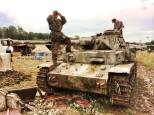 Panzer IV at the 2014 War and Peace Revival Event - England.
