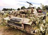 Panzer III at the 2014 War and Peace Revival Event - England.
