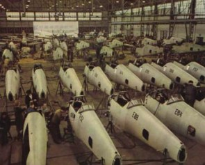Messerschmit Bf 109 factory.