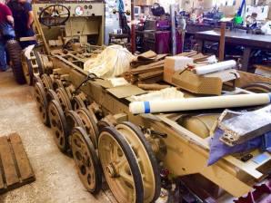 Sd.Kfz. 251 restoration.