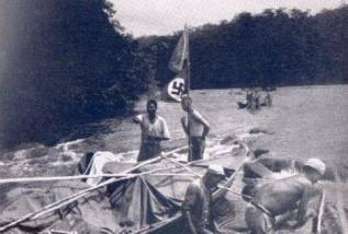 The Guayana project: Nazi's in the jungle Camp. In 1935 German researchers went on an expedition of the Brazilian jungles .