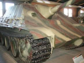 Jagdpanther at the Kubinka Tank Museum - Russia.
