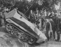 Sd.Kfz. 250 german light armoured halftrack.