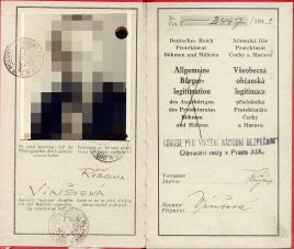 Personal identification card of the Protectorate.