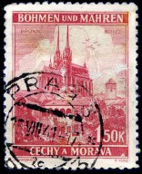 Stamp of the Protectorate.