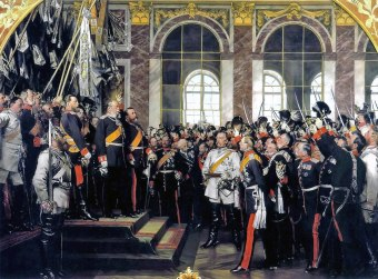 Proclamation of Wilhelm I as emperor of Germany.