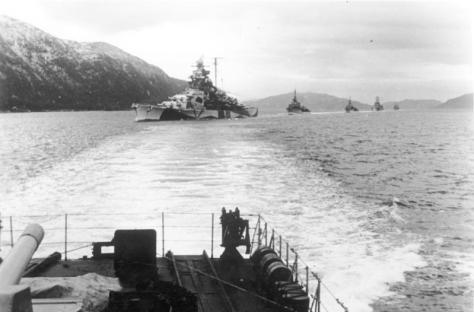 Norwegen, Schlachtschiff, Zerstörer