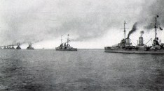 Dreadnoughts of the High Seas Fleet.
