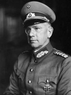 Walter von Reichenau as a General.