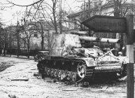 Hummel in Berlin, 1945.