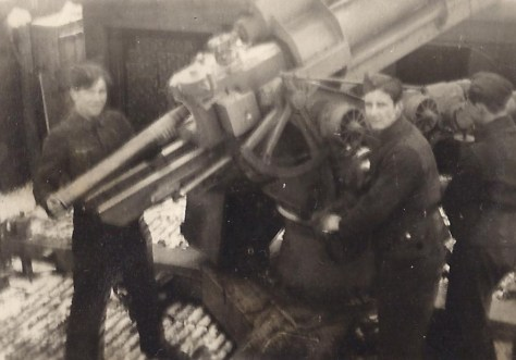 Flakbatterie Karow 1944 Emil