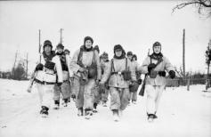 Winter uniform in January 1944.