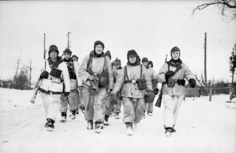 Winter uniform in January 1944.