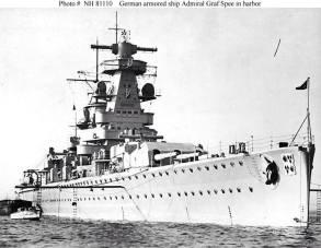 Heavy cruiser Admiral Graf Spee