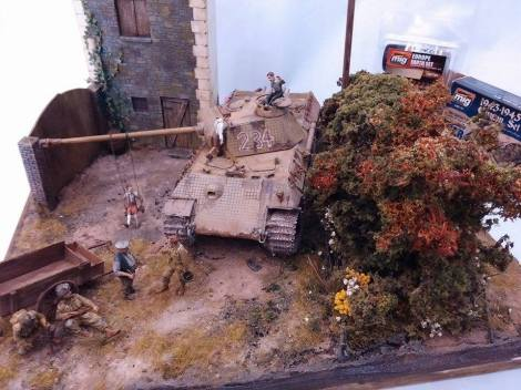 Model of a Panther