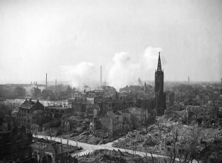 Ruins of Ludwigshafen, Germany 1945.