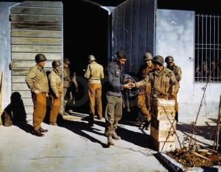 U.S. Army feeding the POWs.