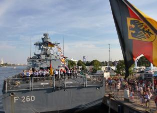 Deutsche Marine - German Navy ceremony.
