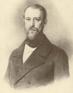 Bismarck at age 32, 1847.
