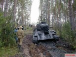 T-34 Beutepanzer recovered in Estonia.