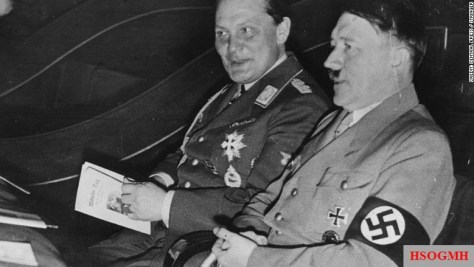 Nazi leader Hermann Göring, the right hand man of Adolf Hitler, collected jewelry, art and other precious objects looted from Jews during the Holocaust.