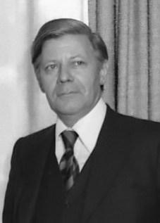 Schmidt in 1975 in Helsinki.