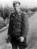 Future West German Chancellor Helmut Schmidt.