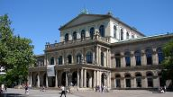 """The Staatsoper Hanover (""""state opera"""") is housed in its classical 19th century opera house."""