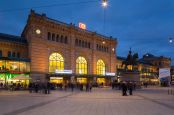 Hannover Hauptbahnhof.