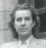 Junge in 1945.