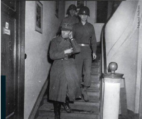 Edwin Graf von Rothkirch und Trach in American custody on 6 March 1945.