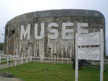 Bunker housing the museum.