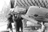 Arming the underwing Werfer-Granate 21 rocket mortar of an Fw 190 A-8/R6 of Stab/JG 26.