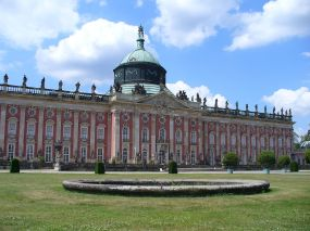 The New Palace in Sanssouci Park.