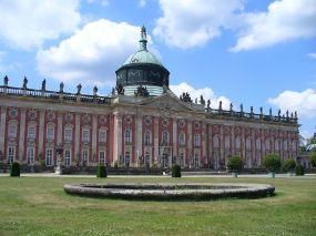 The New Palace in Sanssouci Park.