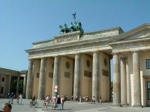 Brandenburg Gate in 2003.