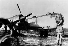Wk. Nr. 550 256, He 177A-7 prototype post-war.