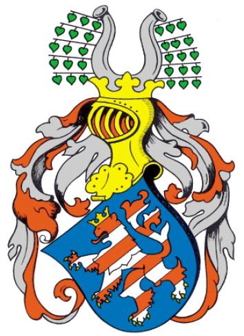 Arms of the landgraves of Thuringia, 1265.