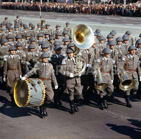 Band on parade.
