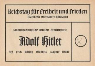 March 29, 1936 plebiscite ballot.