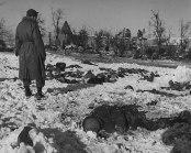 Scene of the Malmedy massacre.
