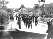 German forces surrendering in St. Lambert on 19 August 1944.