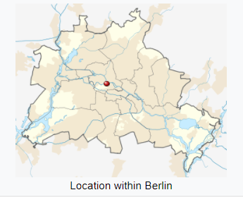 Location in Berlin.