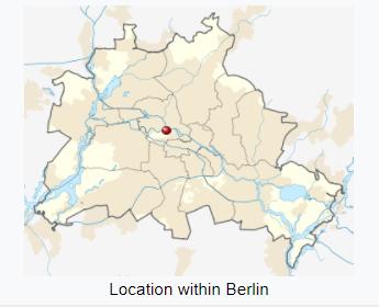 Location in Berlin.