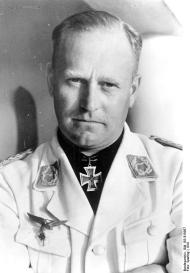 Oberst Edgar Petersen, the head of the Luftwaffe's Erprobungsstellen network of test facilities late in WWII.