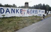 "Berlin Wall, October 1990, Saying ""Thank You, Gorbi."""