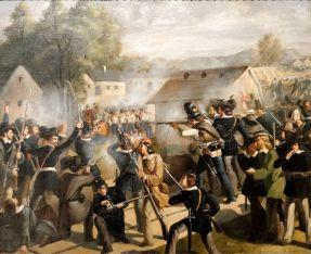 Vienna Uprising, October 1848.