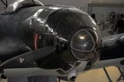 The Norway-restored He 111P-2's nose.