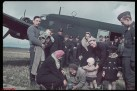 German nationals prepare for repatriation by Air Force U-52 during the German invasion of Poland.