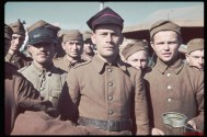 Polish soldiers captured by the Germans during the Polish invasion by Germany.